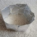 Stove Wind Screen (made from ezfoil pan)